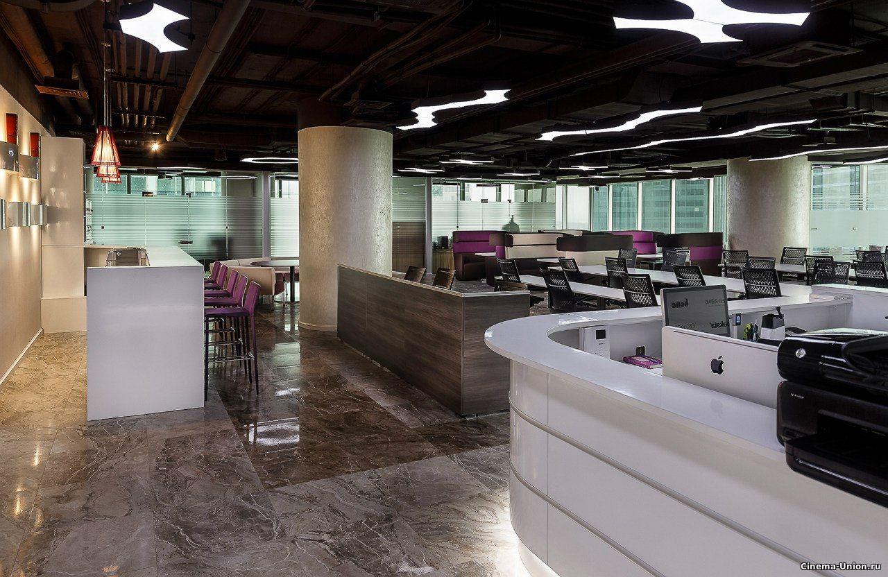 Опенспейс офисы для съемок в Москва-Сити от Локейшн.рф