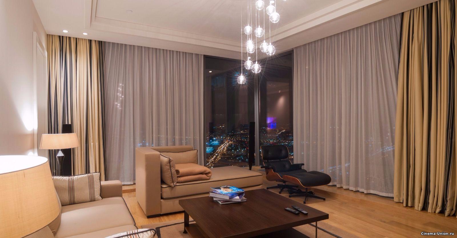 Апартаменты Москва-Сити для съемок кино в Москве и др объекты для киносъемок на Локейшн.рф