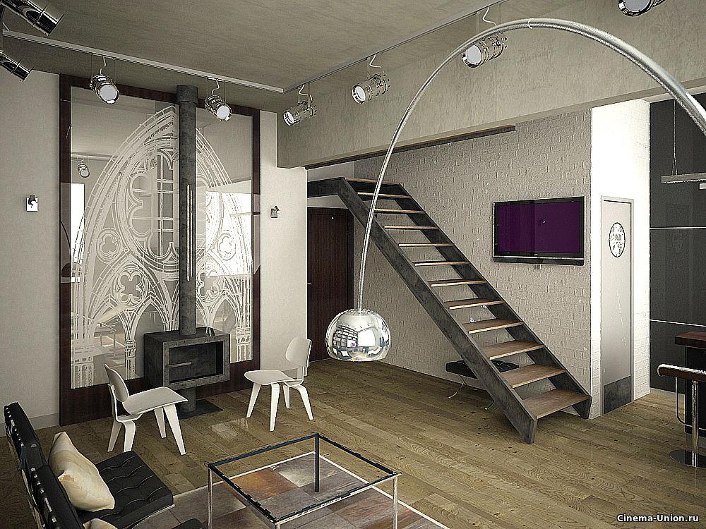 Объекты локейшн: квартира студия хай тек для съемок